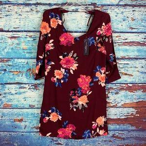 One ❤️ clothing Burgundy dress